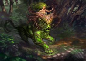 Forestspirit P by Ketka