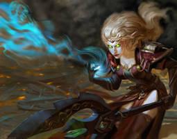 blood elf by Ketka