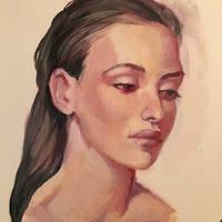 oil study by Ketka