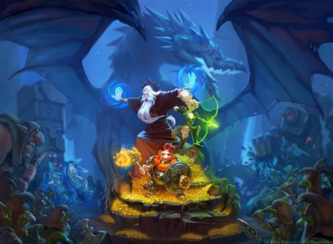DungeonCrusher promo illustration