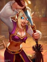 Heroic Innkeeper by Ketka