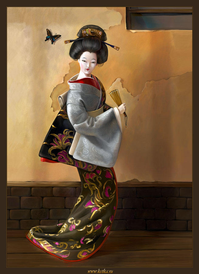 Geisha by Ketka