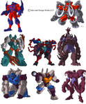 Beast Wars Sourcebook 2 and 3