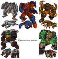 Beast Wars Sourcebook 3 by benjaminmaier