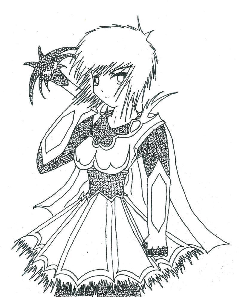 Female Warrior by Jeremiah4 on DeviantArt
