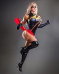Brie ''Ms. Marvel'' Larson