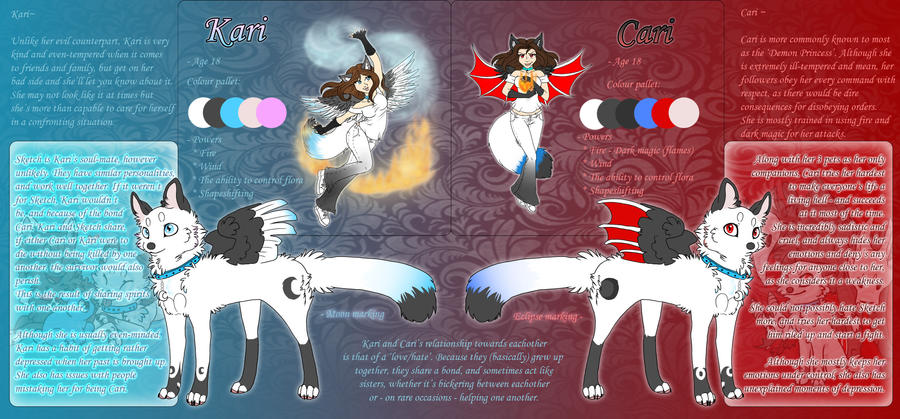 Kari : Cari Reference Sheet by The-F0X