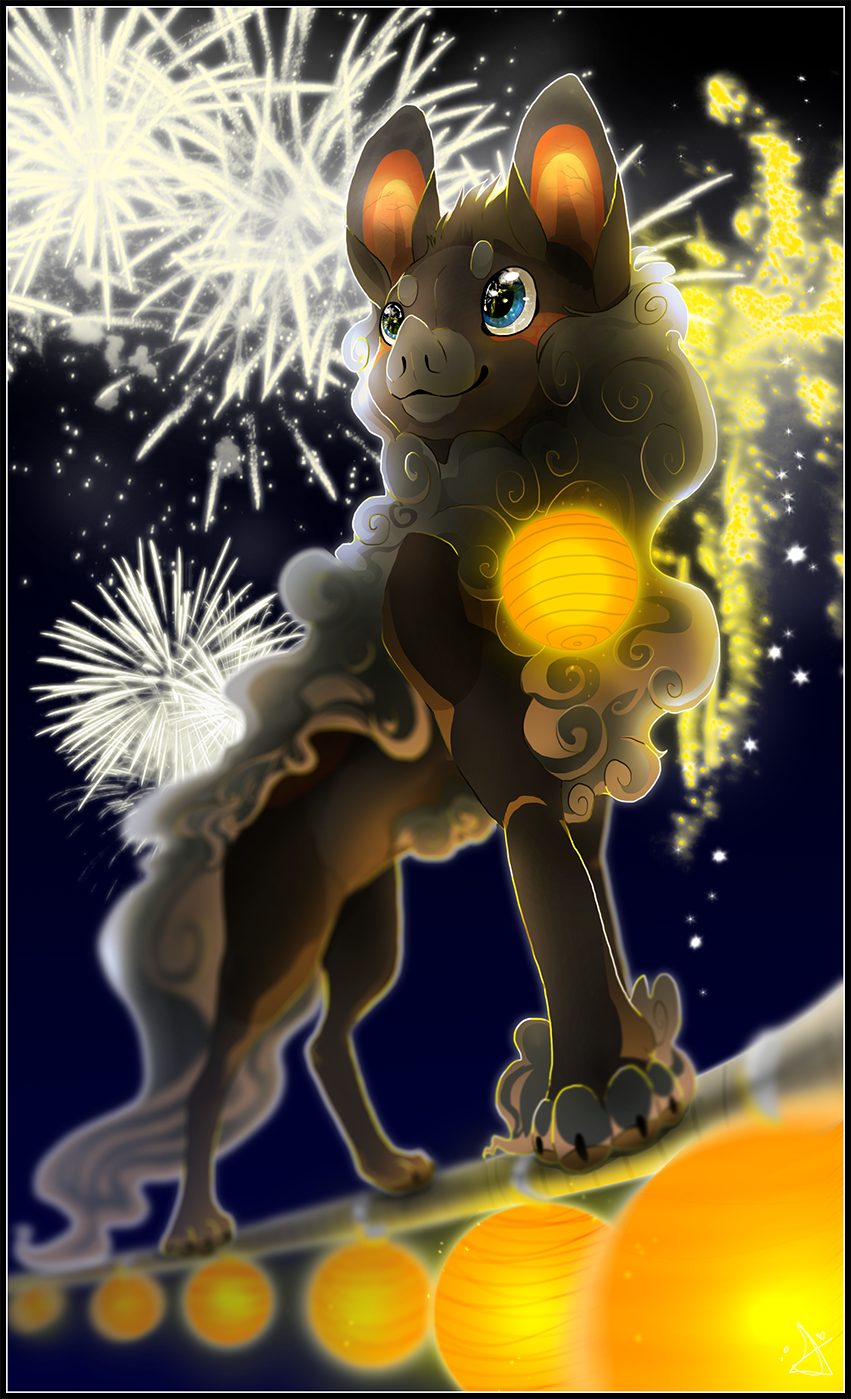 : Fireworks : by The-F0X