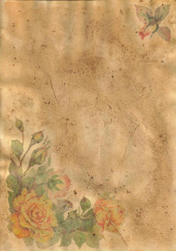 parchment - flowers by elizozur