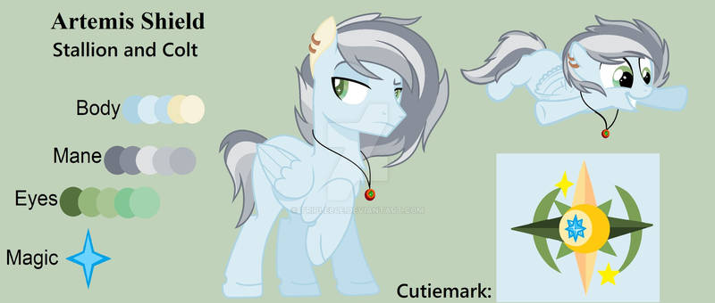 Artemis Shield the Pegasus