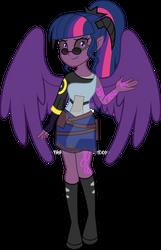 Demonized Twilight Sparkle the Demon of Dark Magic