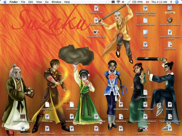 Suzaku no Avatar Desktop