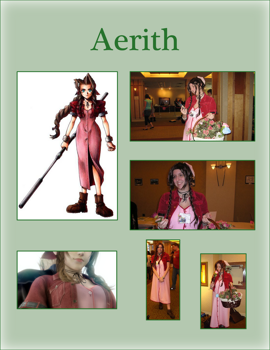 Cosplay - Aerith Gainsborough by AniDragon