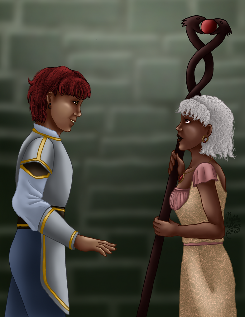 Dragon Age Inquisition: Reunited by AniDragon
