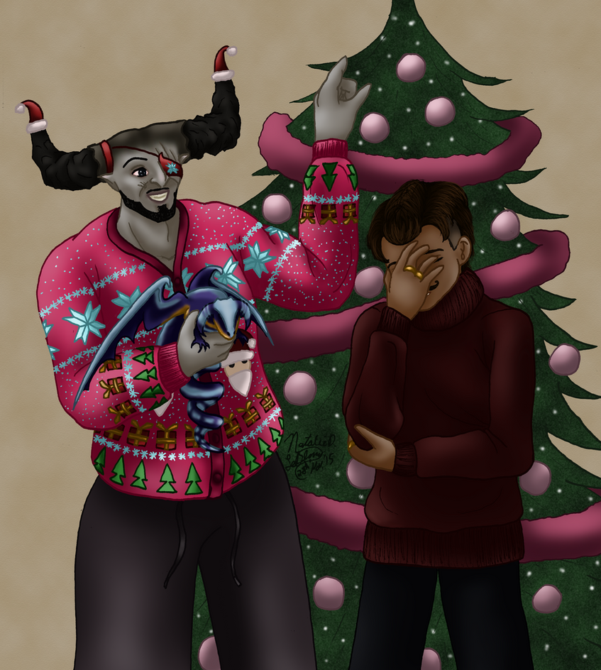 Dragon Age Inquisition: An Adoribull Christmas by AniDragon on ...