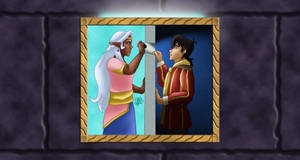 VLD: If Only I had a weapon... by AniDragon