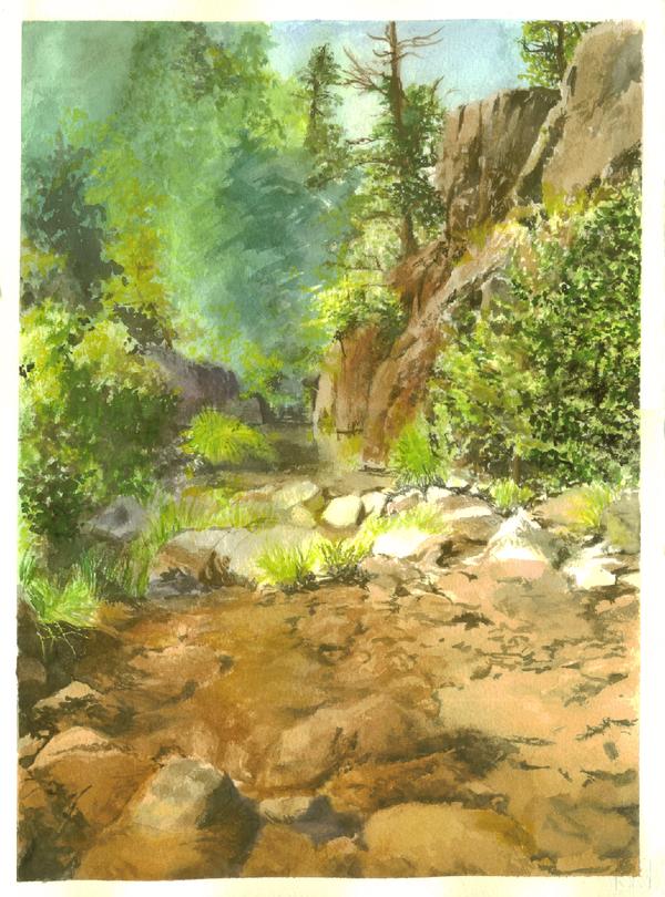 landscape by Nanidanides
