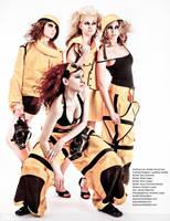 Amber Guard Calendar shot by Lastwear