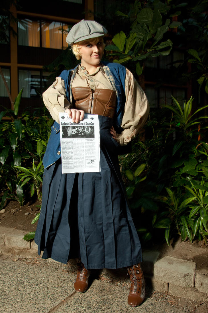 News Girl by Lastwear