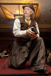 Reporter From Steamcon by Lastwear