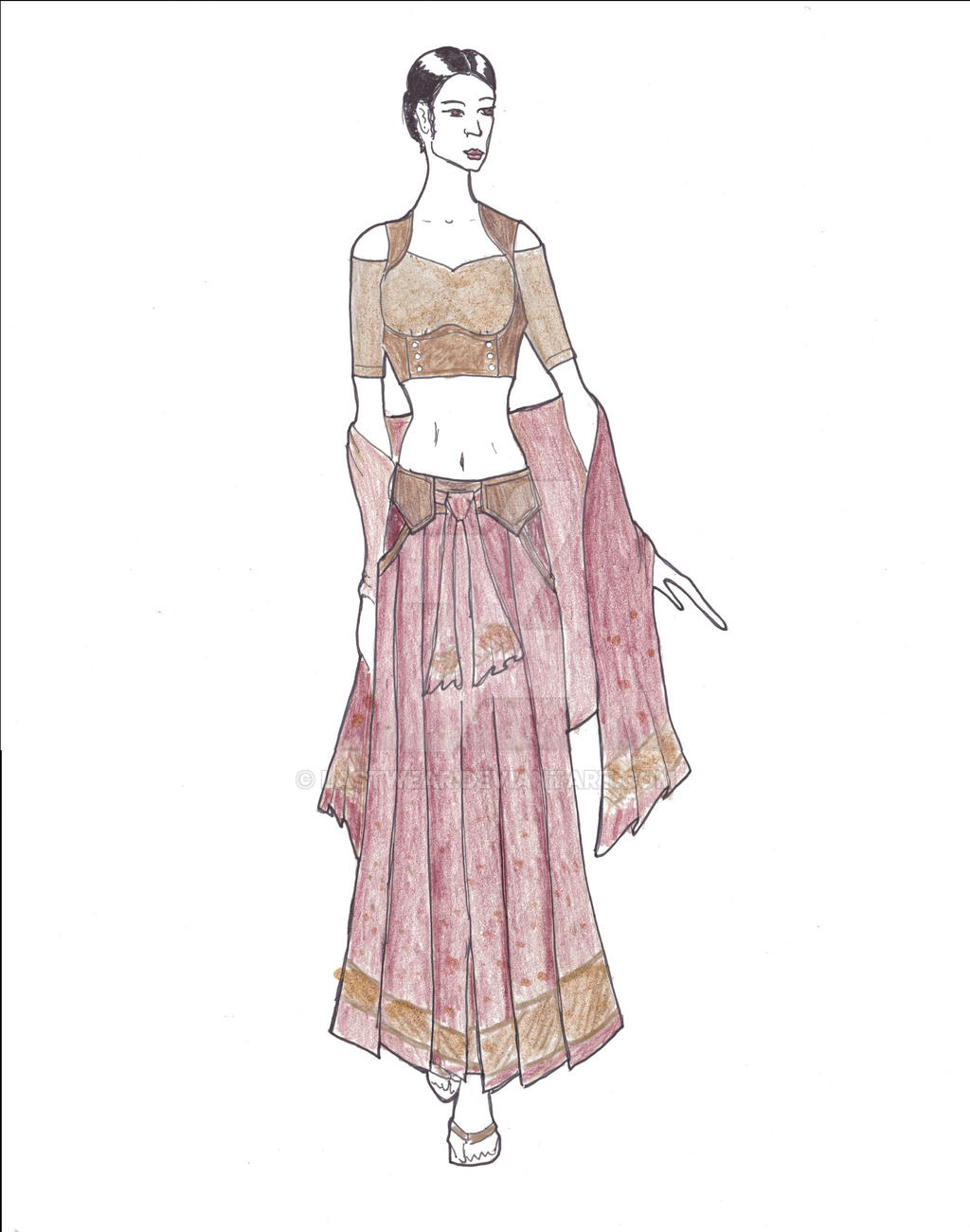 Sari Hakama by Lastwear