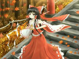 Reimu :: Autumn Colors
