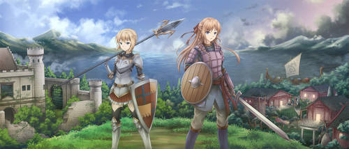 CM :: The Two Warriors by AsakuraShinji