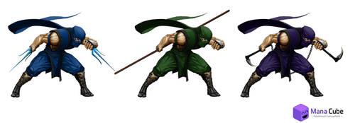 Ninja lvl 3 by Prohibe