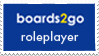 Boards2Go Roleplayer Stamp by CastleGraphics