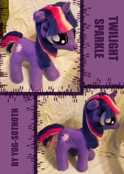 Twilight Sparkle plushie commission by thegate-thekey