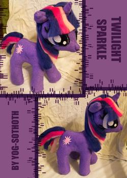 Twilight Sparkle plushie commission