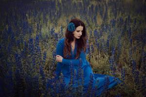 Blue on blue by Econita