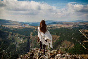 On the edge of Here and Now by Econita