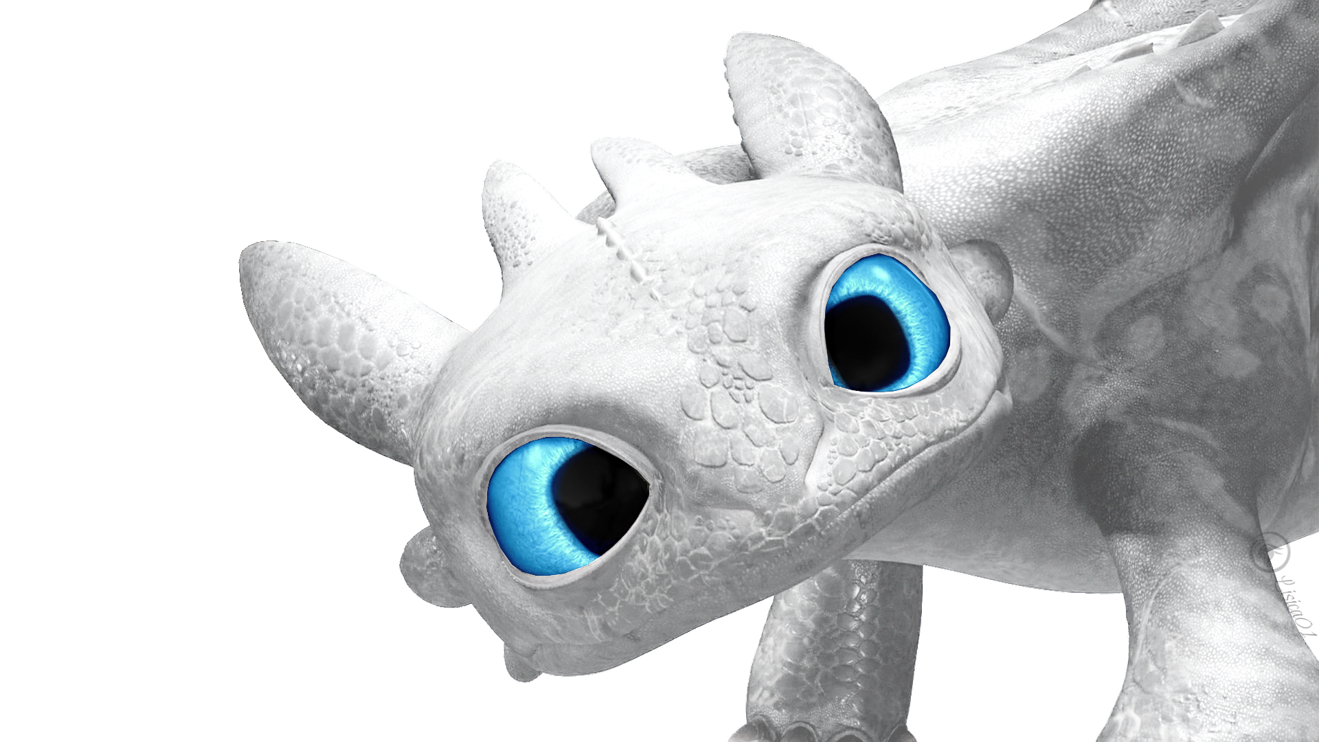 white dragon how to train your dragon