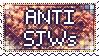 anti SJWs stamp by demiphobe