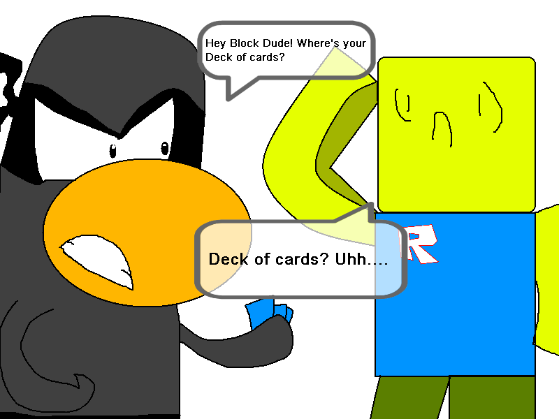 Roblox And Club Penguin - Club Penguin Vs Roblox By Goanimate909 On Deviantart