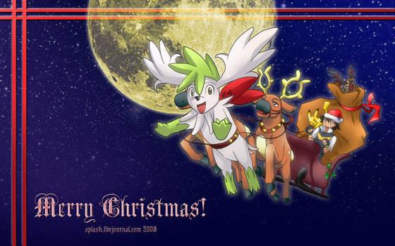 Pokemon - Xmas 2008 Wallpaper