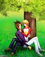 Kingdom Hearts - VenTerra by splashgottaito