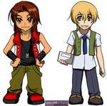 Digimon Savers - Tomato Chibis