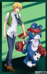 Digimon Savers - Tohma Gaomon