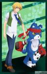 Digimon Savers - TohmaGaomonv2