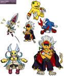 Digimon Savers - Moar Chibis