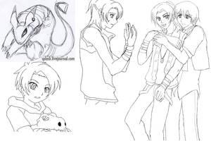 Digimon Savers Thought 37-41 by splashgottaito