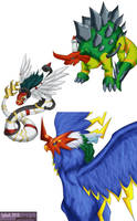 Digimon Savers - BioHybrids by splashgottaito