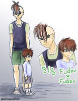 8-8 Fudou x Fudou by splashgottaito