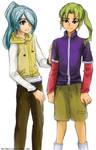 I11 - Kazemaru and Midorikawa