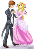 Commission - Shawn and Izumi by splashgottaito
