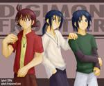 Digimon Frontier Trio 2006