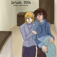 Digimon - Taichi Yamato+Towel by splashgottaito