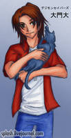 Savers - Masaru with neko
